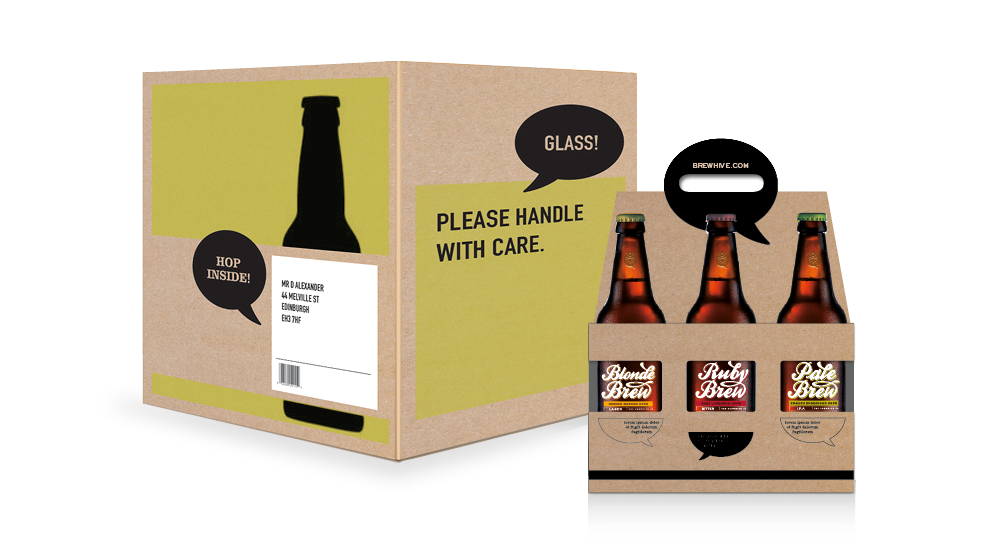 Brewhive Packaging
